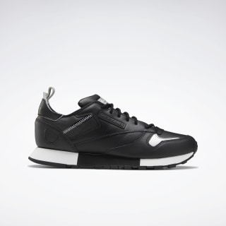 Classic Leather Ree:Dux Shoes Black / White / Silver Met. FV3540