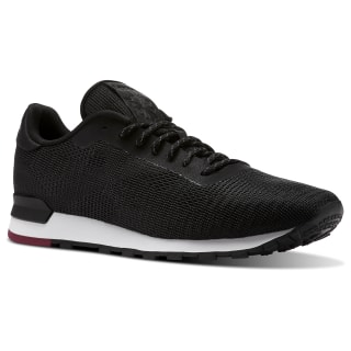 Classic Leather Flexweave Black/White/Urban Maroon CN2135
