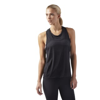LES MILLS Perforated Tank Black CD6165