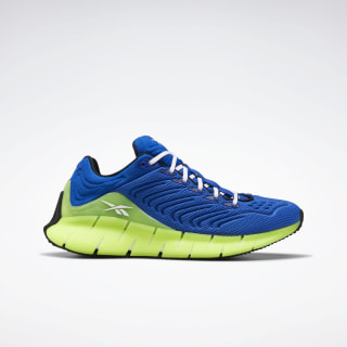 Zig Kinetica Shoes - Grade School Humble Blue / Solar Yellow / White FW7140