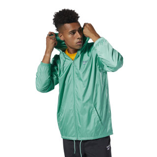 Classics Vector Windbreaker Timeless Teal DX3828
