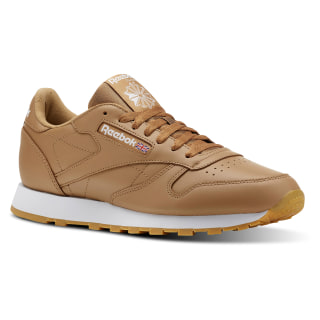 Zapatillas Classic Leather LEATHER MU FG-SOFT CAMEL/WHITE/GUM CN5768