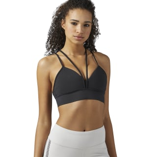 Reebok Strappy Sports Bra Black BR2750