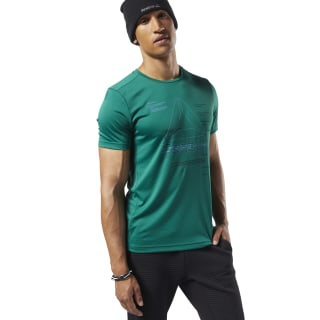Workout Ready Graphic Tee Clover Green EC0863