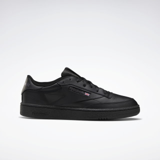 Кроссовки Reebok Club C 85 Black / Int-Black / Charcoal AR0454