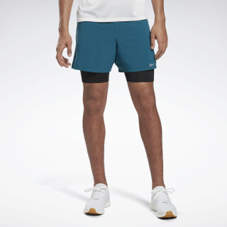 One Series Running Epic Two-in One Shorts Heritage Teal FJ4015