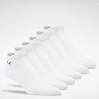 Active Core Low-Cut Socks 6 Pairs White FL5322