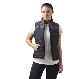 Outdoor Padded Vest Black CG0605