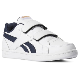 Reebok Royal Prime ALT White / Collegiate Navy / Trek Gold DV3868