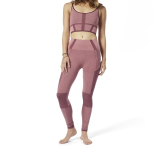 Legging Sem Costura Cós Alto Rose Dust DY8066