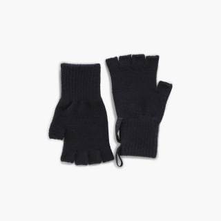 Reebok Victoria Beckham Fingerless Gloves Black/Black FI0819