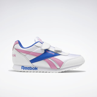 Reebok Royal Classic Jogger 2.0 Shoes White / Posh Pink / Humble Blue EF3731