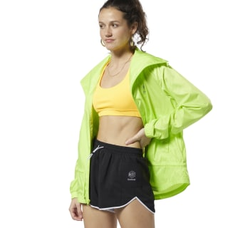 Classics Graphic Windbreaker Neon Lime DT7297