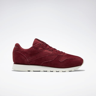 Кроссовки Reebok Classic Leather MAROON/CHALK DV8508