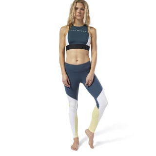 LES MILLS® Colorblock Tights Blue Hills DV2684
