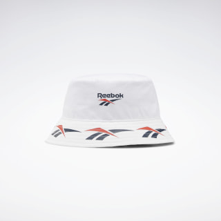 Classics Vector Bucket Hat White FL5416