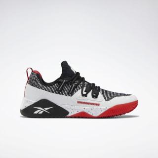 Reebok JJ III Shoes Black / Rebel Red / White EF4131