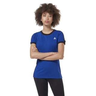Training Essentials Linear Logo T-Shirt Cobalt FI2017