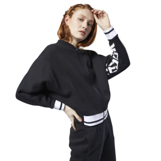 Meet You There Track Jacket Black EC2371
