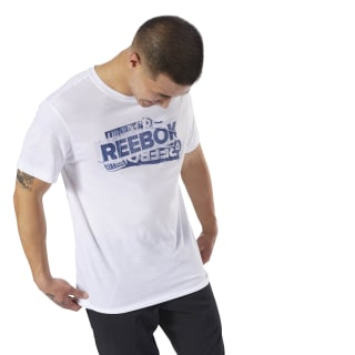 GS Reebok Decal Tee White DH3789