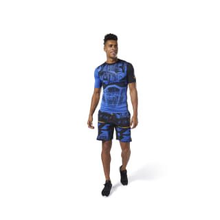 Training Speedwick Shorts Black / Crushed Cobalt DY8561