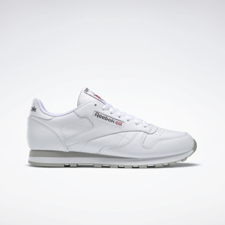 Classic Leather LTHR INT-WHITE/LT. GREY 2214