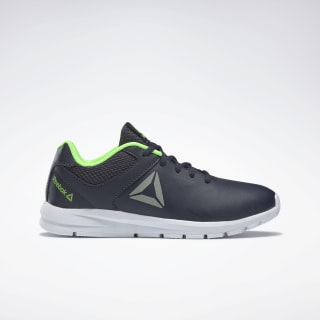 Reebok Rush Runner Shoes Collegiate Navy / Solar Green / Pewter DV8690