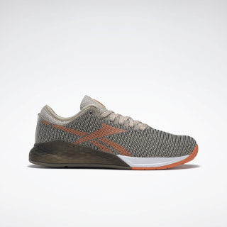 Reebok Nano 9 Women's Training Shoes Light Sand / Army Green / Fiery Orange DV9123