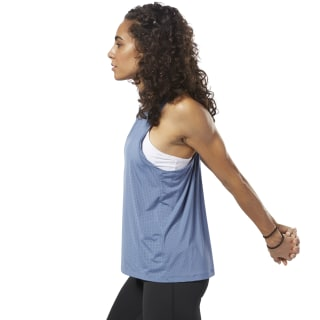 Perforated Speedwick Tank Blue Slate D93961