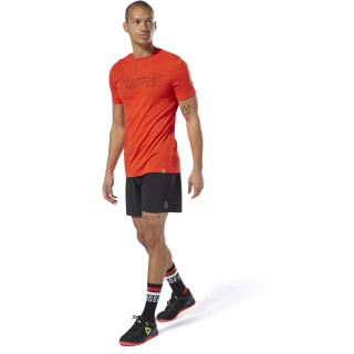 Reebok Science CrossFit® T-Shirt Canton Red EA3196