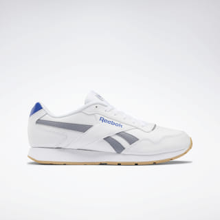 Reebok Royal Glide Shoes White / Grey / Cobalt / Gum DV6709