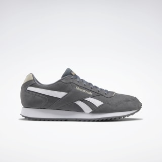 Reebok Royal Glide Ripple Shoes Pure Grey 6 / Modern Beige / White EF7700