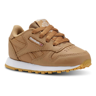 Classic Leather - Toddler SOFT CAMEL / WHITE CN5612