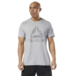 Elements Marble Mélange Tee Skull Grey D94172