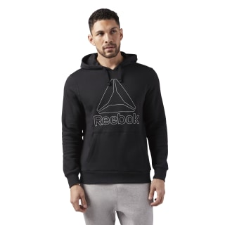 Sudadera Elements Big Logo Black CE4743