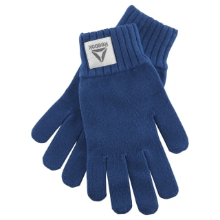 Active Foundation Knitted Glove Bunker Blue CZ9848