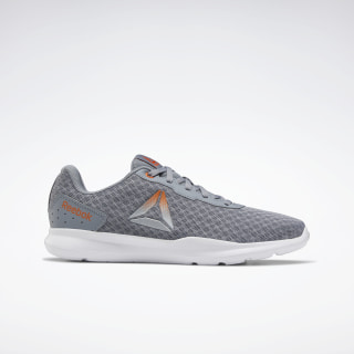Reebok Dart Shoes Cold Grey 4 / White / Fiery Orange EG1569