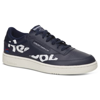 Club C 85 Shoes C Navy / Chalk / Tdr / Red DV8959