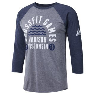 2018 CrossFit Games Unisex Tee Medium Grey CL0775