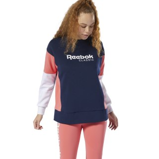 Sweat à col rond Classics Advanced Collegiate Navy DY4133