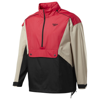 Classics Trail Windbreaker Light Sand / Rose Red FM5023