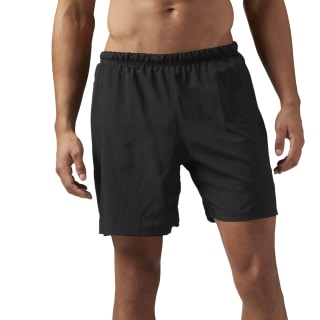 Running 18 cms Shorts Black / Black CD5441