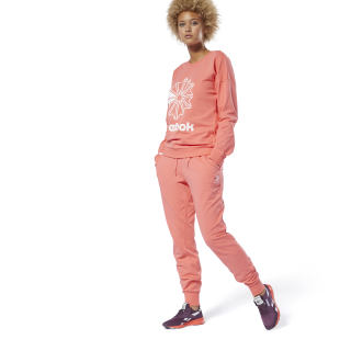 Classics French Terry Pants Bright Rose DT7249