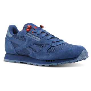 Classic Leather Explore-Bunker Blue/Blue Slate/Primal Red CN4703