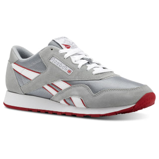 Classic Nylon M Archive-Baseball Grey / White / Flash Red CN5149