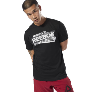 T-shirt GS Reebok Decal Black DH3775