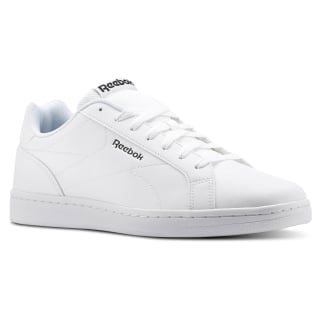 Tênis Reebok Royal Complete CLN NM-WHITE/BLACK/REFLECTIVE CN3100