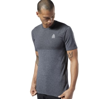 Reebok CrossFit® MyoKnit Tee Cold Grey 7 / Black DY8439