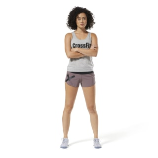 Short en maille Reebok CrossFit - Graphic Purple D94947