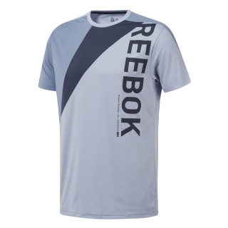 One Series Training Colorblock Tee Denim Dust EC0995